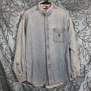 Vintage Tommy Hilfiger Denim Button Down.